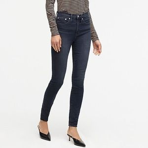 J crew | high-rise toothpick Grey Lake jeans 26